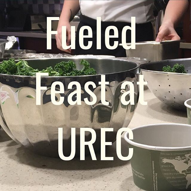 On February 22, Aramark Chef Matt Acampora will be joining the Fueled team to unveil some of our favorite Fueled dishes! We will discuss ways to have a more sustainable diet that is equally nutritious and delicious! Save your spot by signing up at https://tinyurl.com/urecfueledfeast 🌎🌱🍴