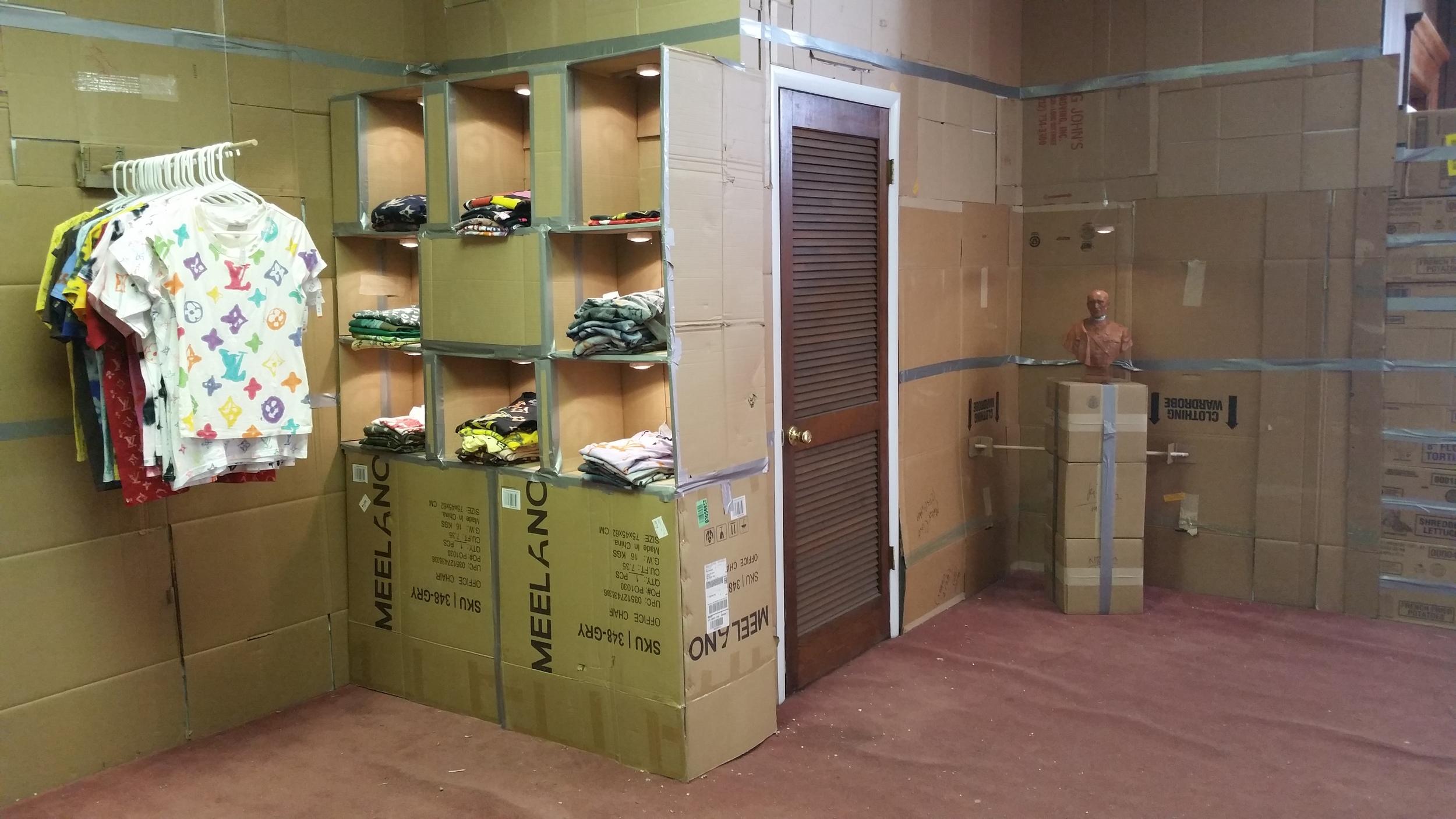 LV DIY installation view