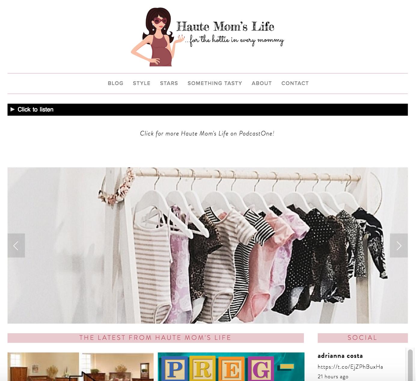 Haute Mom's Life by Adrianna Costa