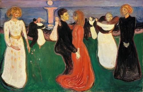 Edvard Munch-The Dance of Life