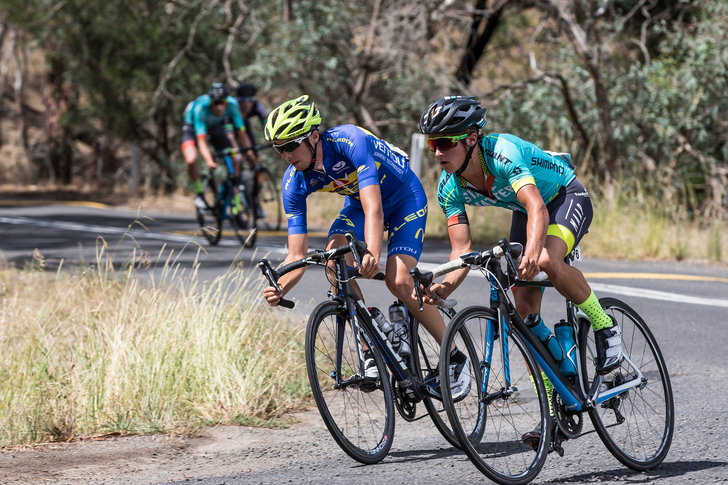 Nick Miller trying to take the lead at Oceania 2016. Image courtesy of PDitty Images.