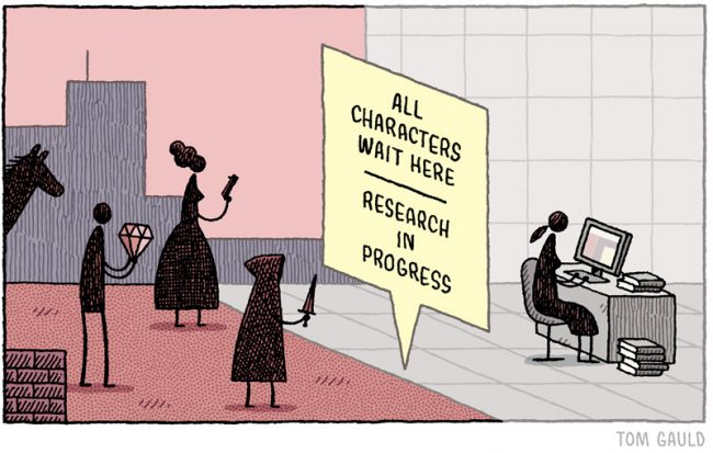 All Characters wait here - Tom Gauld.jpg