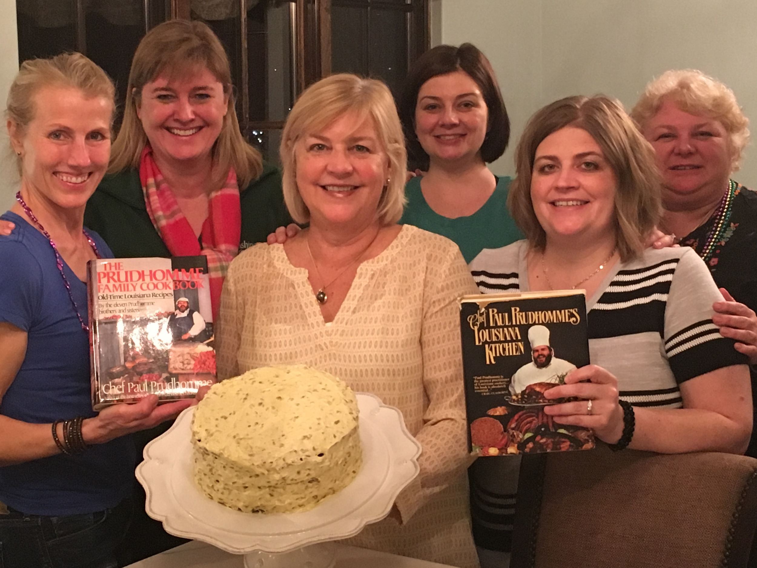 Inaugural Meeting of the Hills Cookbook Club