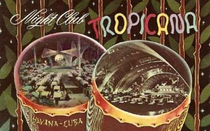 Vintage postcard of the famous Tropicana Night Club, Havana Cuba