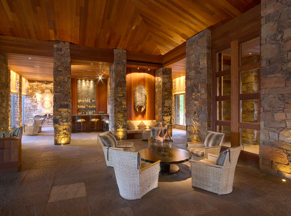 Zinc Bar at the Amangani Resort - Jackson Hole, Wyoming