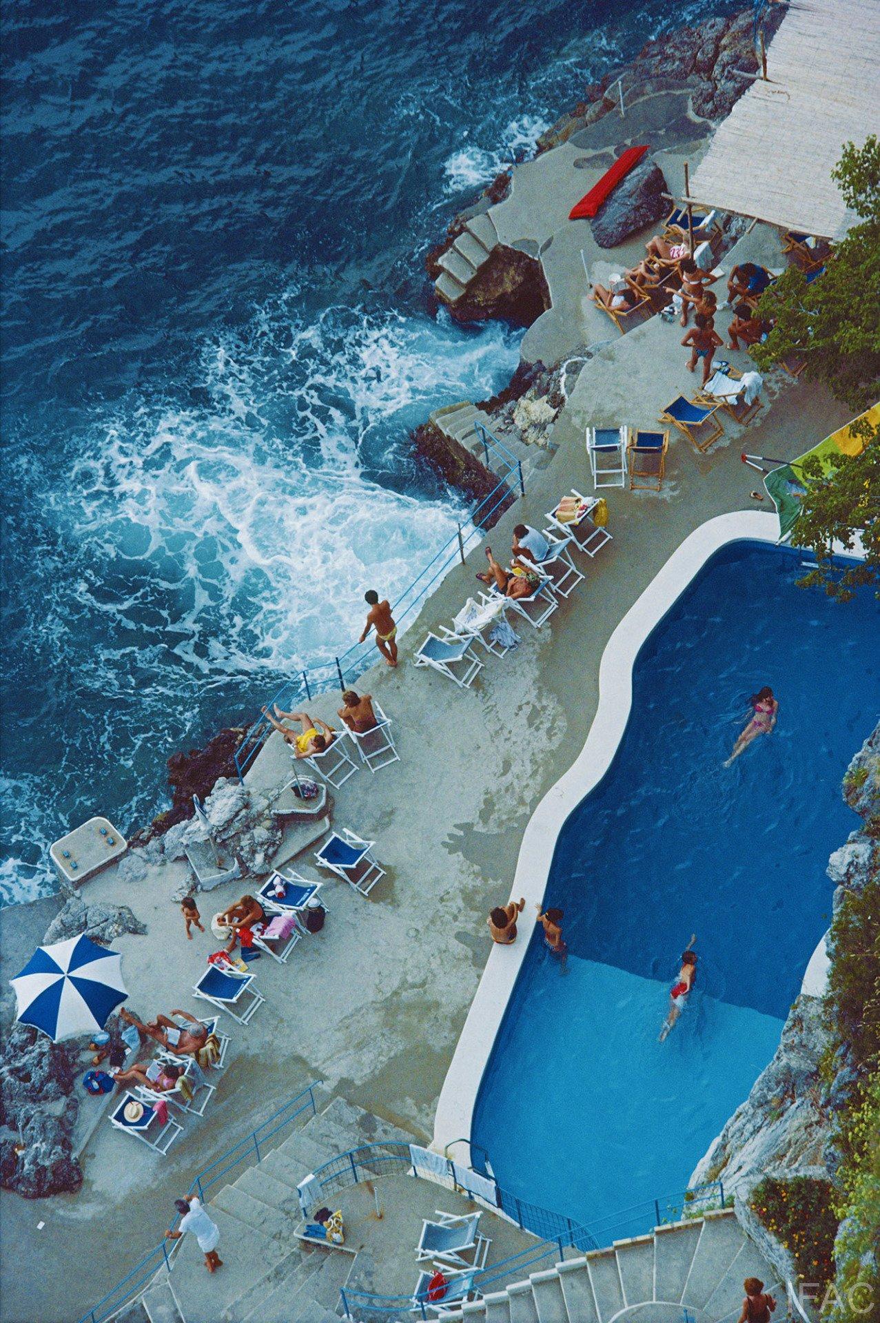 Hotel S. Catrina, Amalfi, Italy, 1984