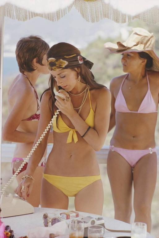 Las Brisas resort in Acapulco, Mexico, 1972