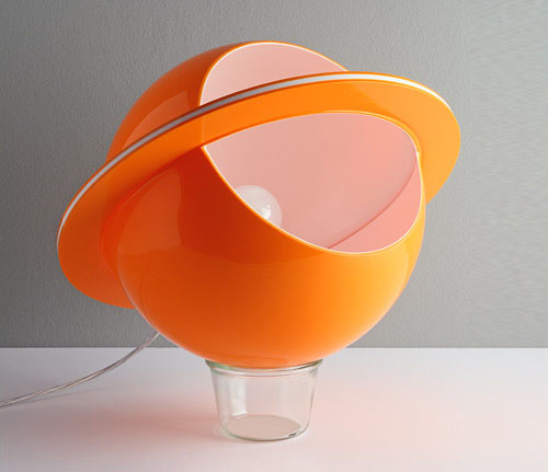 Space Age Lamp from the exhibition at Triennial Design Museum