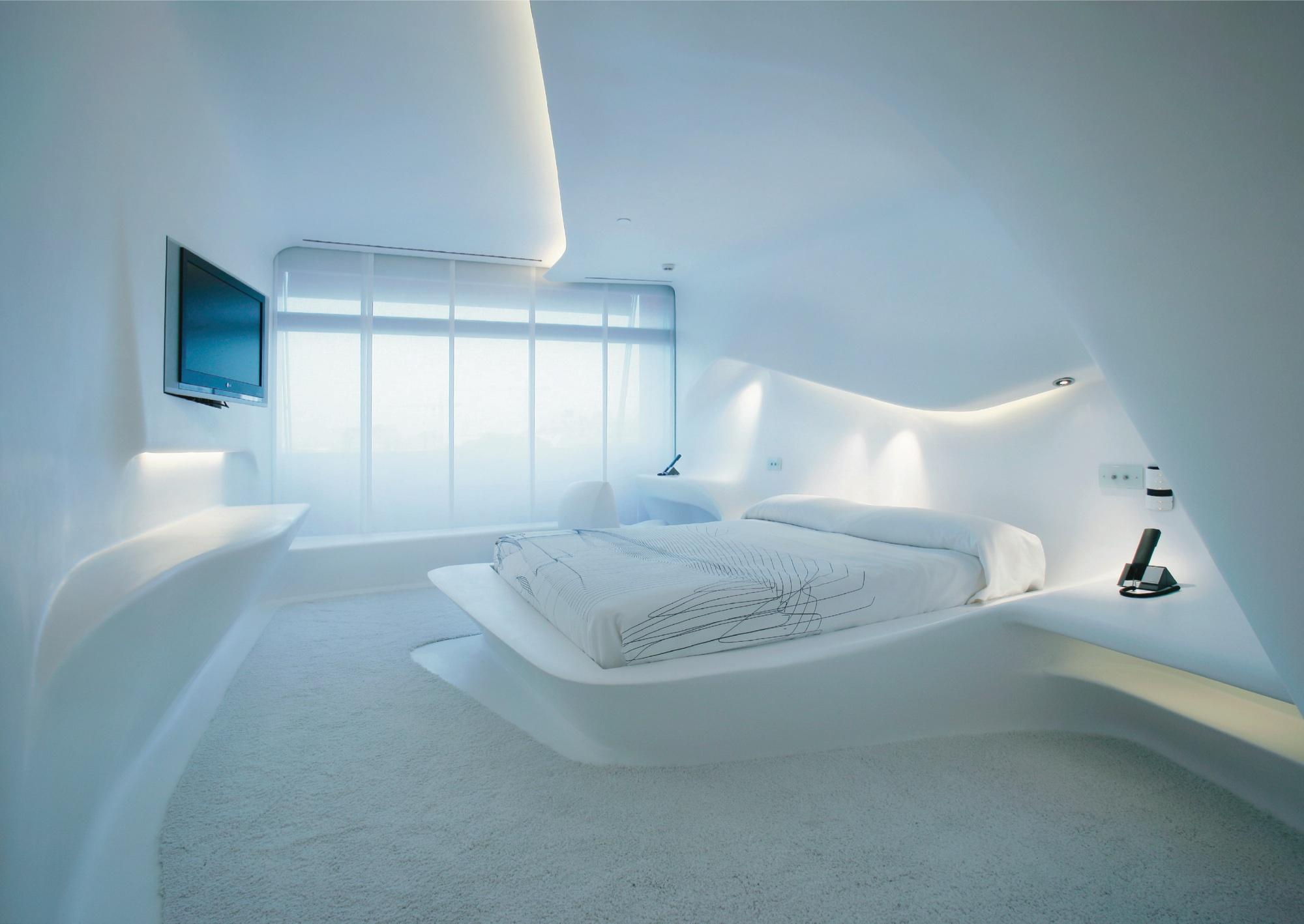 Puerta America Hotel (Zaha Hadid suite) in Madrid, Spain