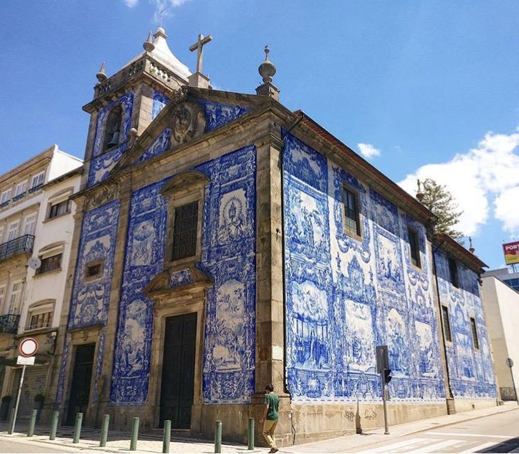 Chapel of Souls (Igreja Cappella Das Almas) Porto, Portugal