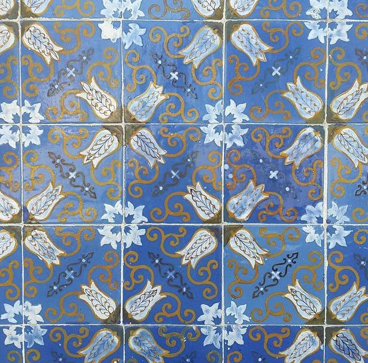 """Azulejo Tiles - Facade of """"Palacio do Raio, Braga, Portugal"""