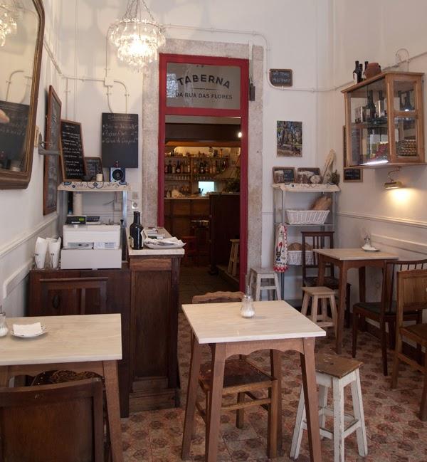 Restaurant Taberna da Rua das Flores Lisbon, Portugal