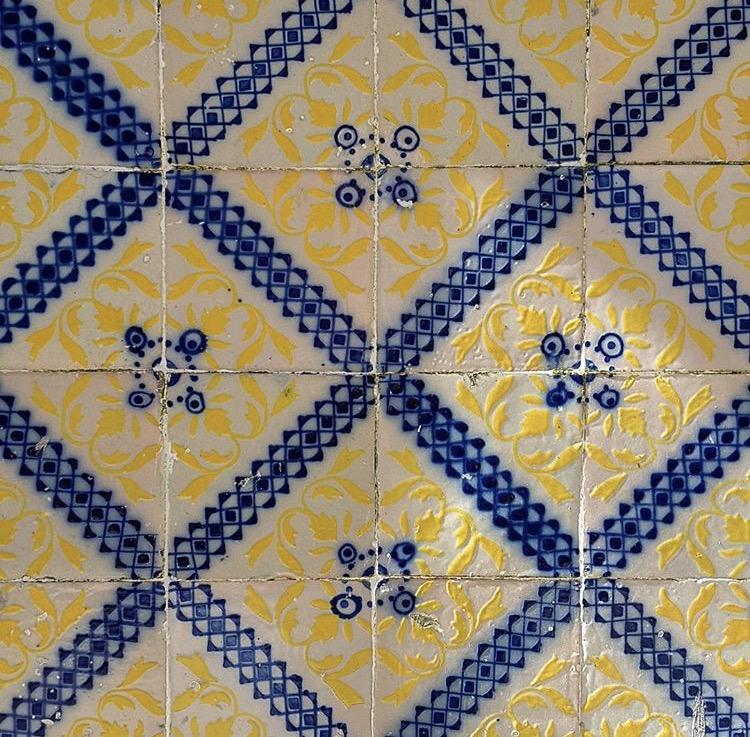 Azulejo tiles - Barcelos, Portugal