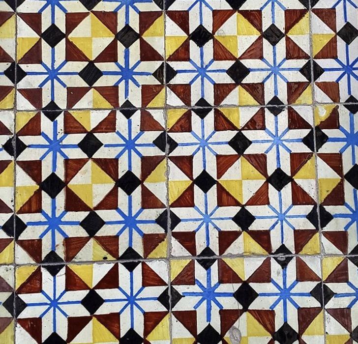 Azulejo tiles - Braga, Portugal