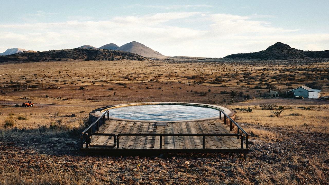 The Thunderbird Hotel pool