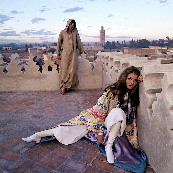 Paul Getty Jr and Talitha Getty Photographed by Patrick Linchfield - Morocco 1969