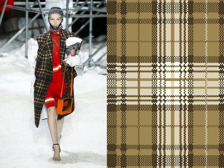 Calvin Klein RTW Fall 2018 / Royal Thai Design no. BX04718-7