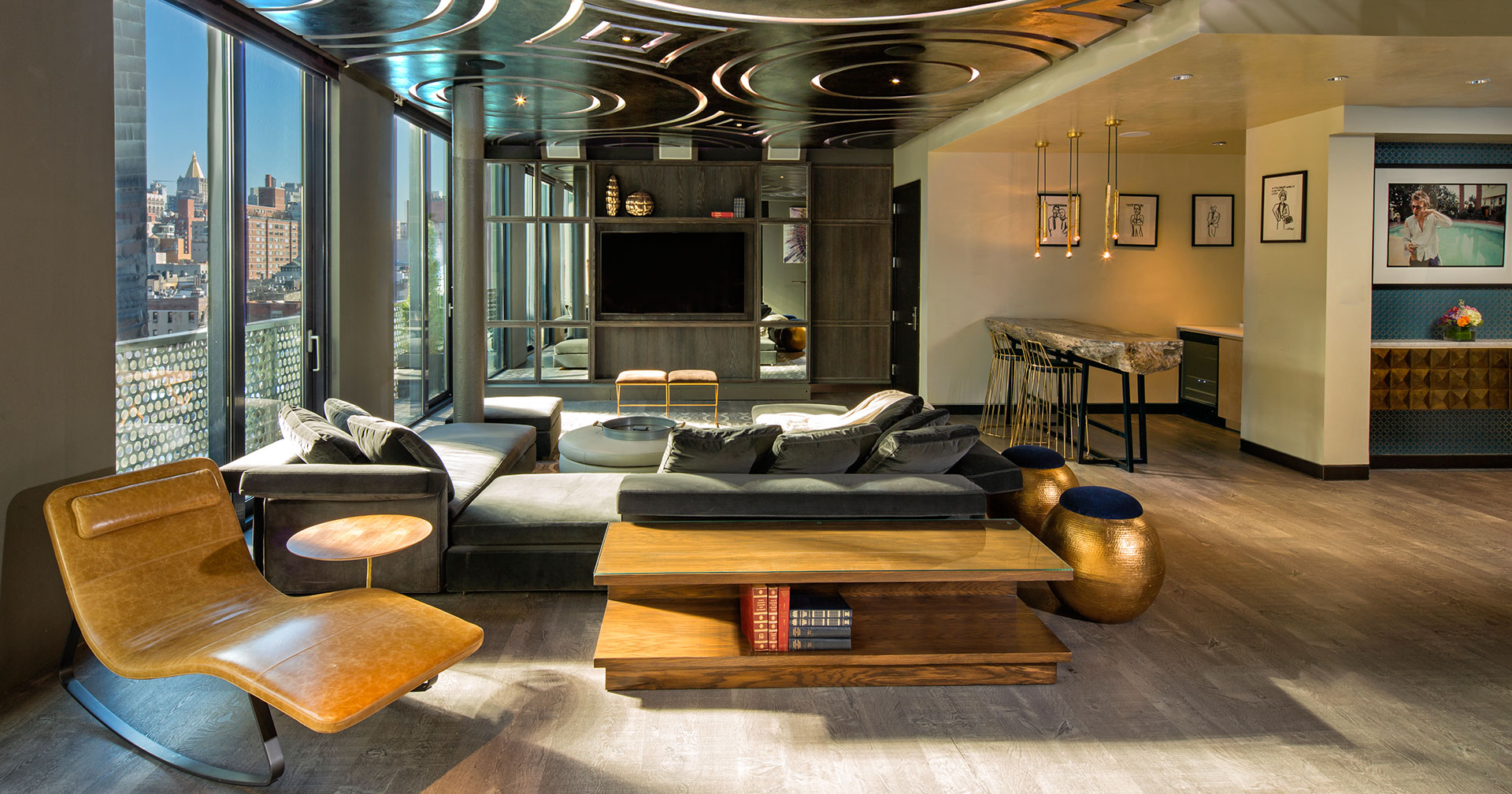 New York City Dream Hotel Downtown penthouse