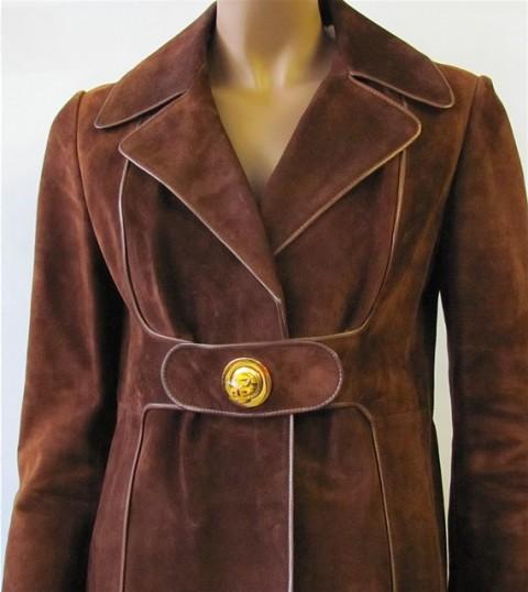 Vintage 70's suede coat