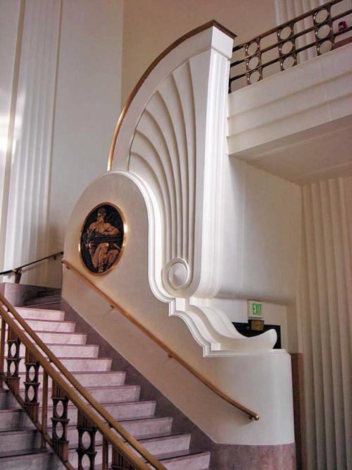 William Allen & George W. Lutzi Art Deco Burbank City Hall - Burbank, CA
