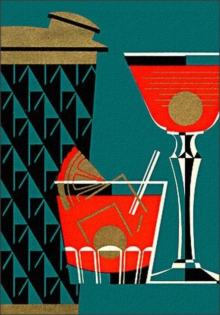 Art Deco inspired illustration