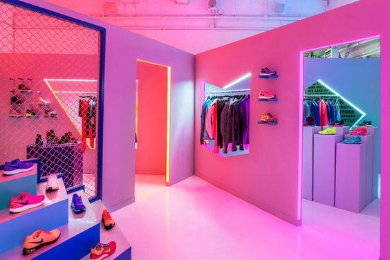 Nike pop-up shop
