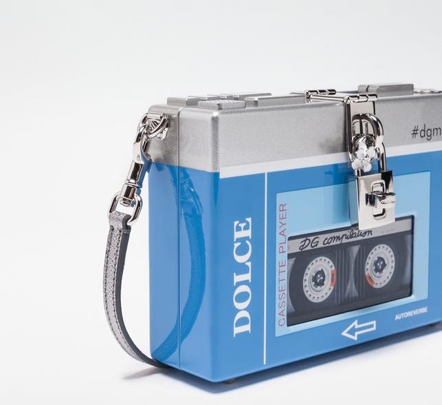 Dolce & Gabbana Cassette Player Clutch