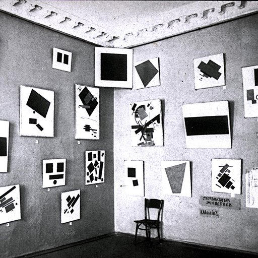 """Suprematism is an art movement, focused on basic geometric forms, such as circles, squares, lines, and rectangles, painted in a limited range of colors. It was founded by  Kazimir Malevich in Russia, around 1913. The term suprematism refers to an abstract art based upon """"the supremacy of pure artistic feeling"""" rather than on visual depiction of an object of which inspired Zaha Hadid's very own architectural language  The Suprematists' interest in abstraction was fired by a search for the 'zero degree' of painting, the point beyond which the medium could not go without ceasing to be art. This encouraged the use of very simple motifs, since they best articulated the shape and flat surface of the canvases on which they were painted. (Ultimately, the square, circle, and cross became the group's favorite motifs.) It also encouraged many Suprematists to emphasize the surface texture of the paint on canvas, this texture being another essential quality of the medium of painting. - theartstory.org  In this post we look at this art movement and how it influenced Zaha's early paintings and later shaped her architecture, design and style."""