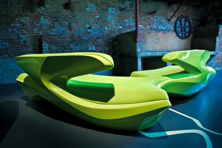 Zephyr Sofa 'Multiplicities' Exhibition [2013] – ZHD - © Jacopo Spilimbergo