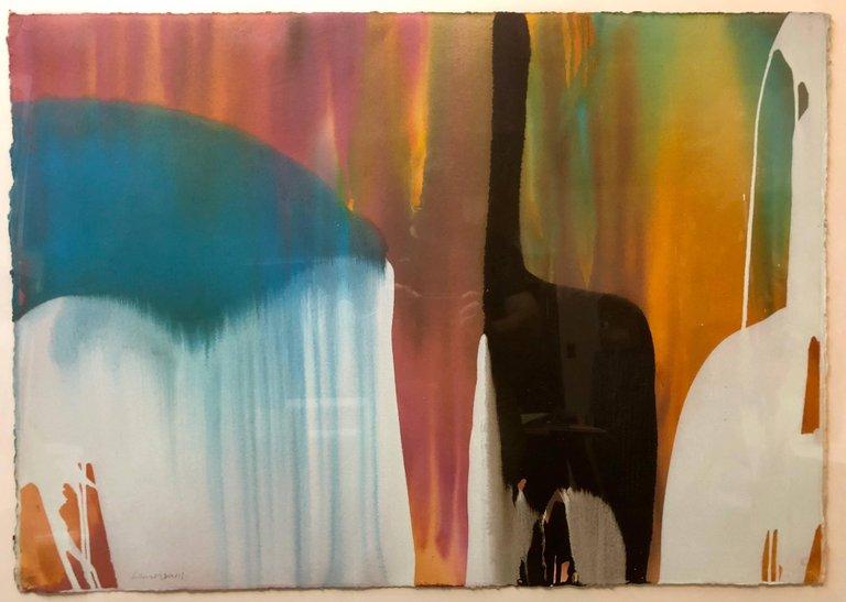 Artist Lamar Briggs,Verda Ibiza No. 2 Acrylic Painting - 1980