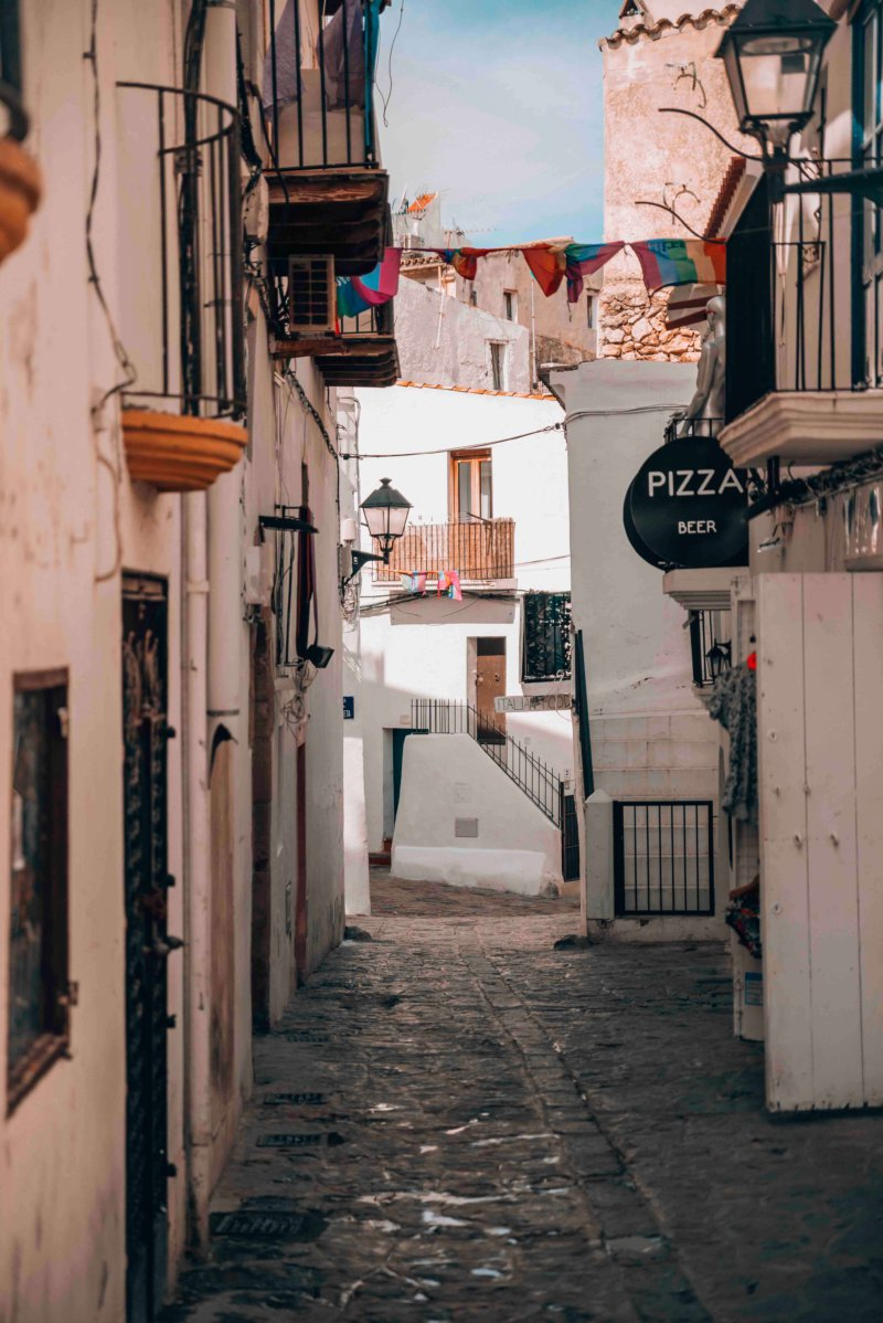 Old Town - Ibiza, Spain