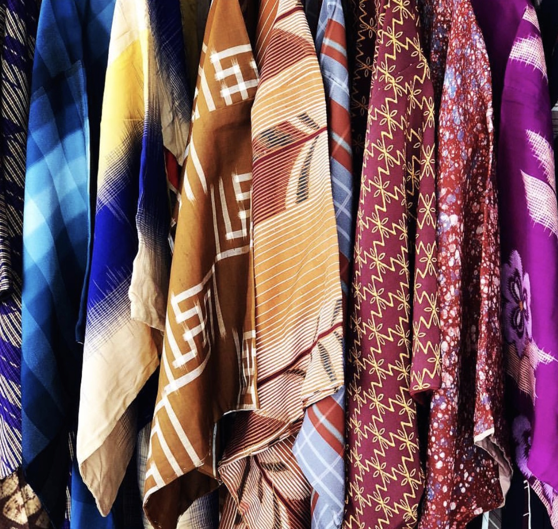 Vintage assorted Caftans - Ibiza, Spain
