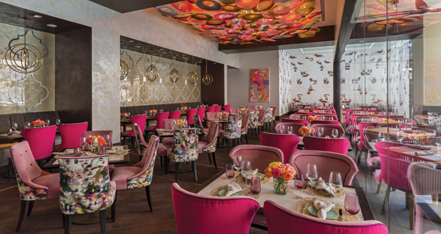 The Post Oak Hotel restaurant Bloom and Bee | Houston, Texas