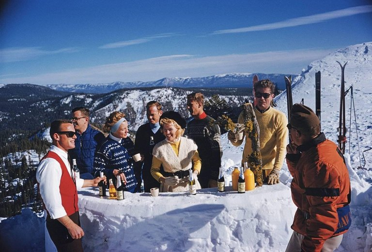 Slim Aarons - Aspen, Colorado