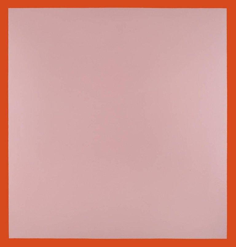 "Artwork by Walter Darby Bannard "" Cherokee Blanket #1"" "" - 1960"