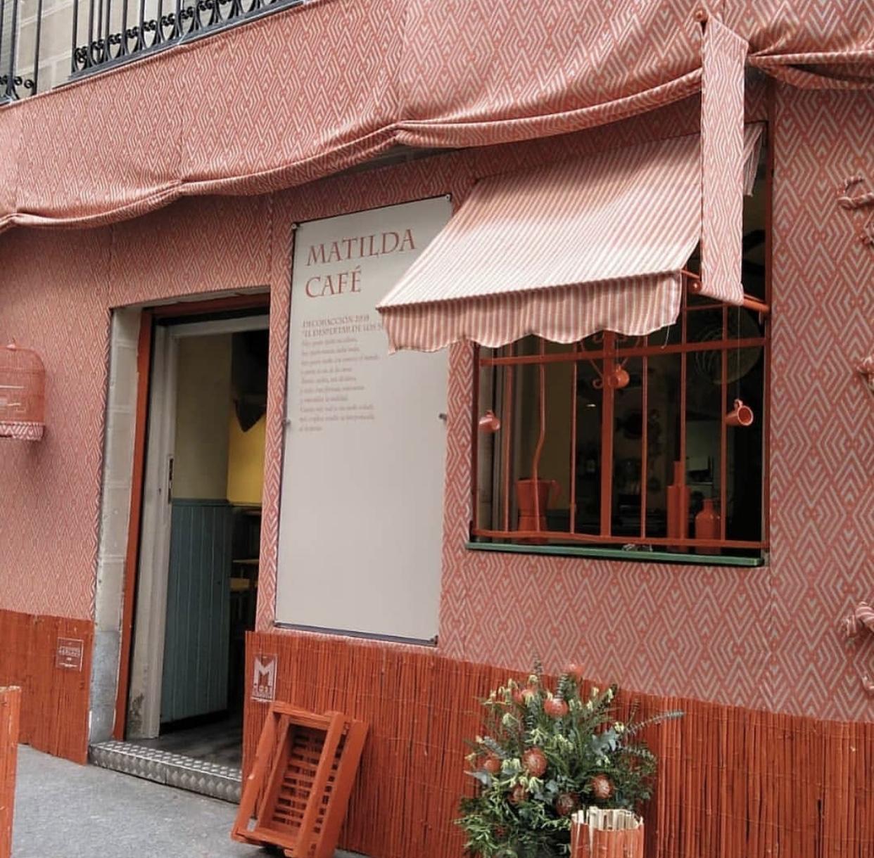 Facade Matilda Cafe Cantina - Madrid, Spain