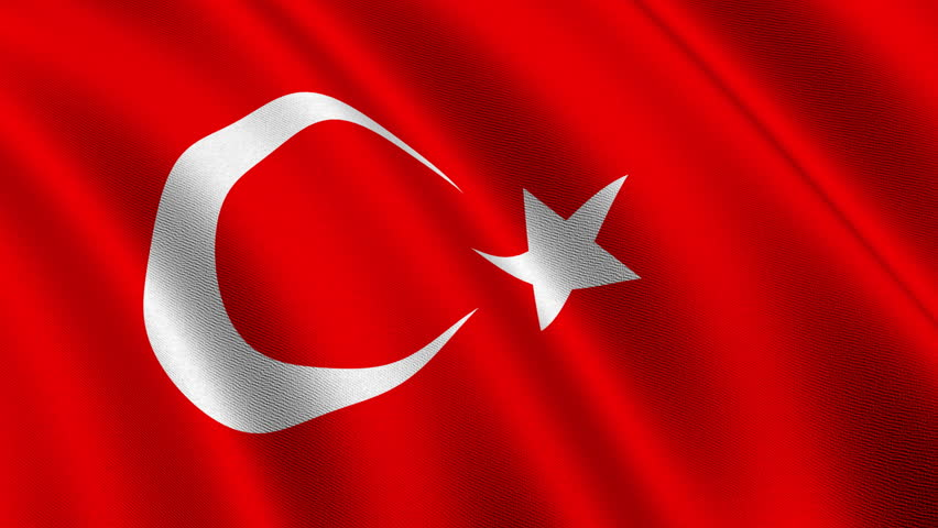 The  flag of the Republic of Turkey -  The current design of the Turkish flag is directly derived from the late Ottoman flag, which had been adopted in the late 18th century and acquired its final form in 1844.