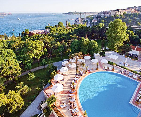 Exterior of Swissotel The Bosphorus - Istanbul, Turkey