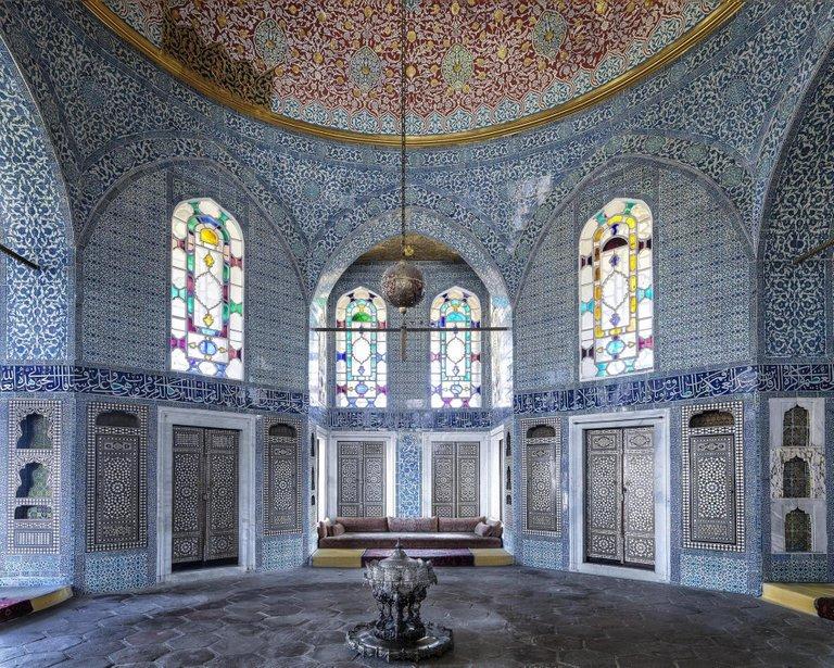Massimo Listri Photograph - Topkapi Palace, Yerevan Pavillion I, Istanbul, Turkey 2018