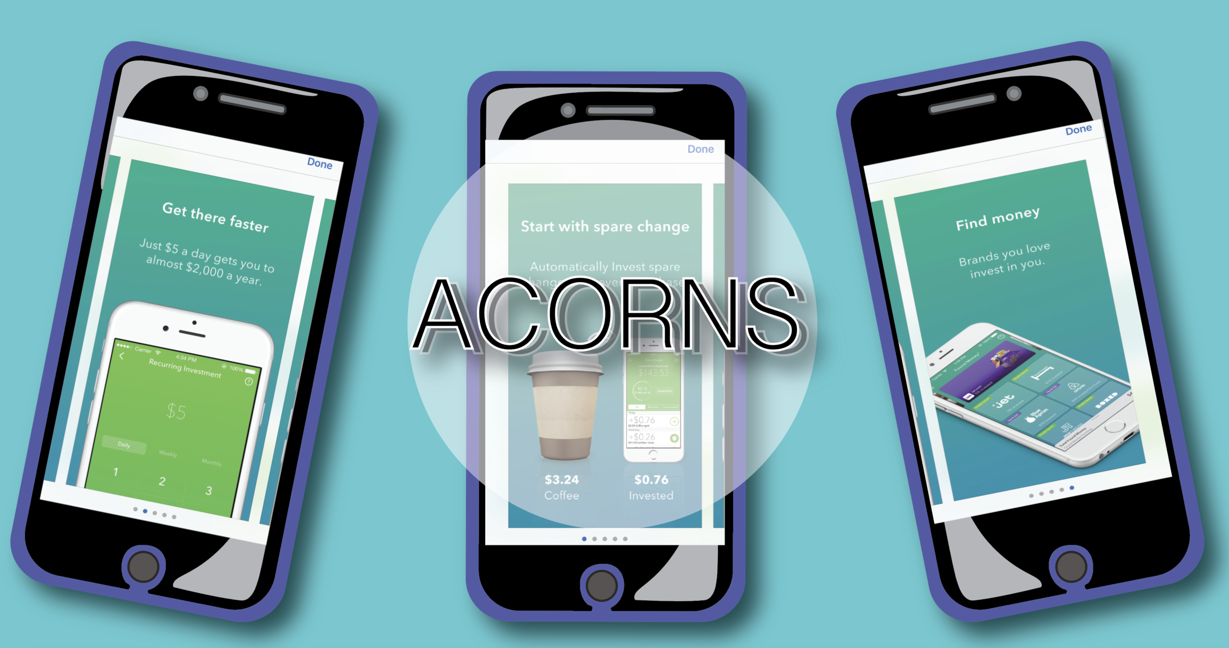 Visit the  ACORNS  site.
