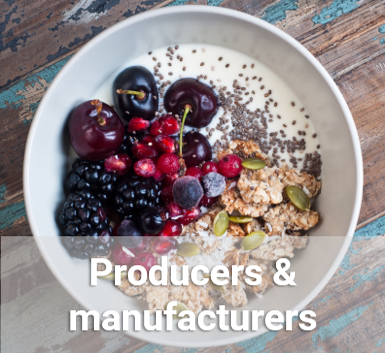 See how nutrition can help food producers and manufacturers.  Read more