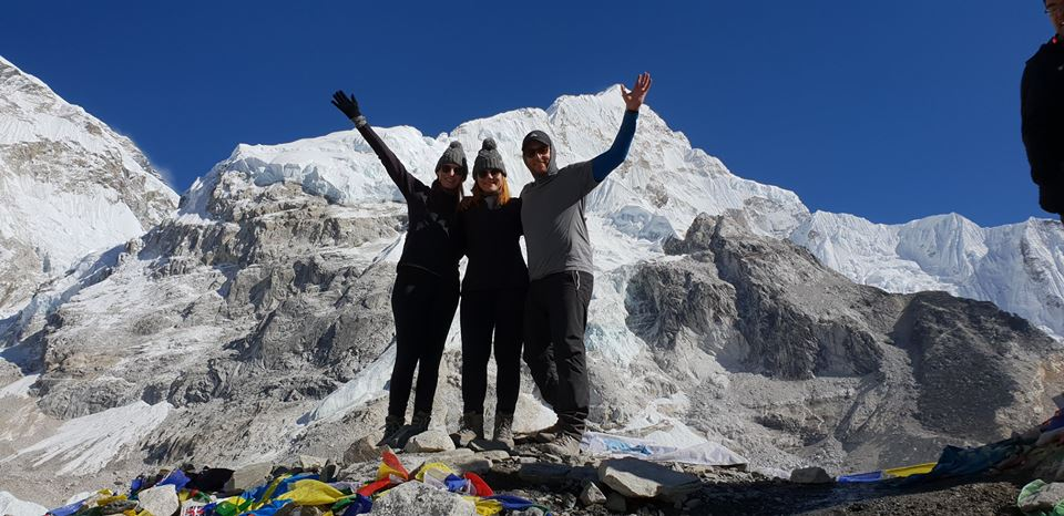 W3 successfully reached Everest Base Camp