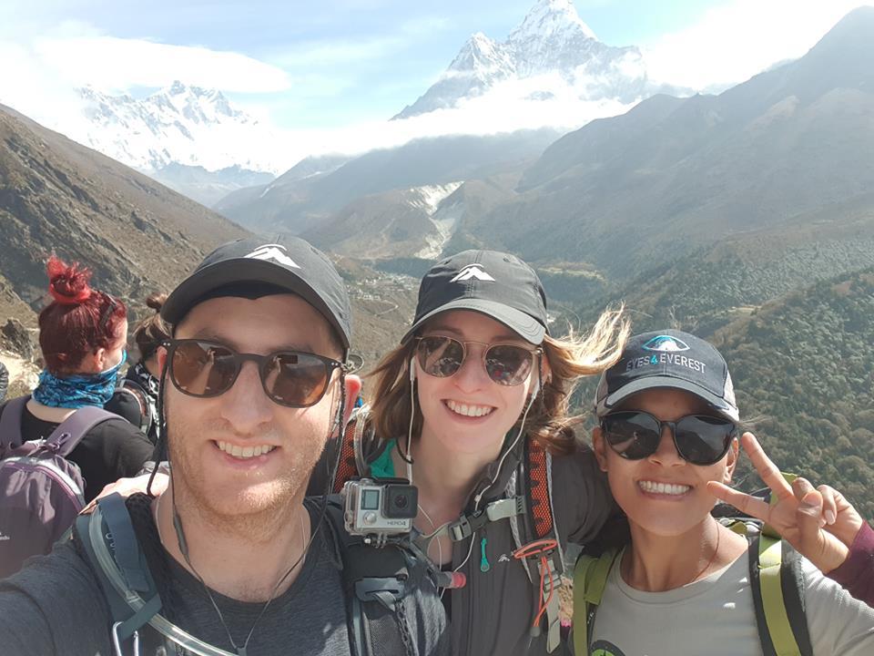 Shane, Tali and Tashi Doma Sherpa Optometrist