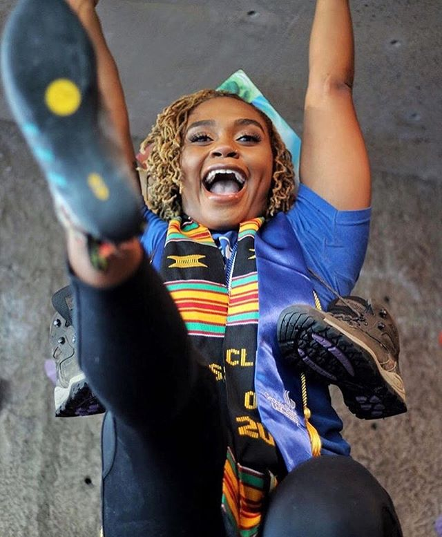 Congratulations to all the 2019 graduates!  I loved the joy in @sierra.outside's face (Congrats girl!) and that she incorporated her hiking boots into her graduation photos.  This photo hits a little different as this week marks the 65th anniversary of Brown v. Board of Education. Schools (including colleges and universities!) have only been desegregated (at least in the eyes of the law) for 65 years. If you're ever in Topeka, visit the Brown v. Board of Education National Historic Site (@brvb_nhs)!