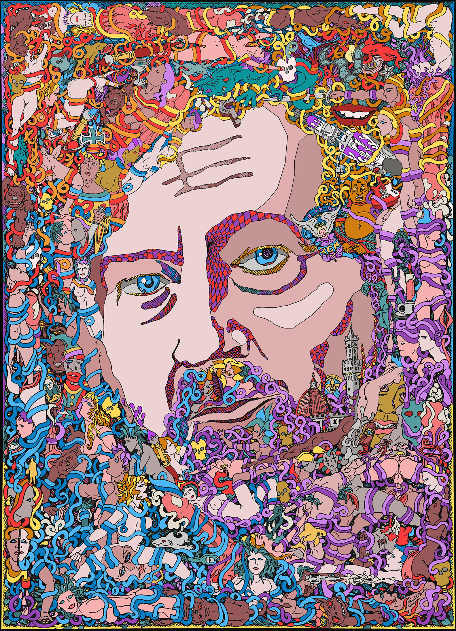 Self Portrait by Gregory Beck