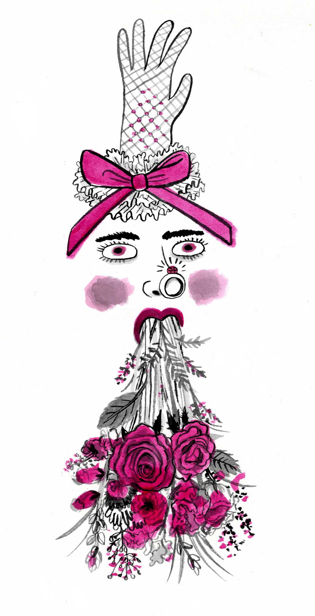 """A Heartbroken Temp at Brides.com"""