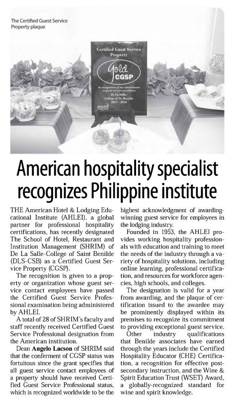 Manila Standard Today | September 26, 2017