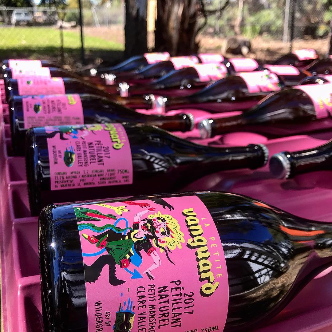 2017 Petillant Naturale. Follow Vanguardist Wines on  Instagram