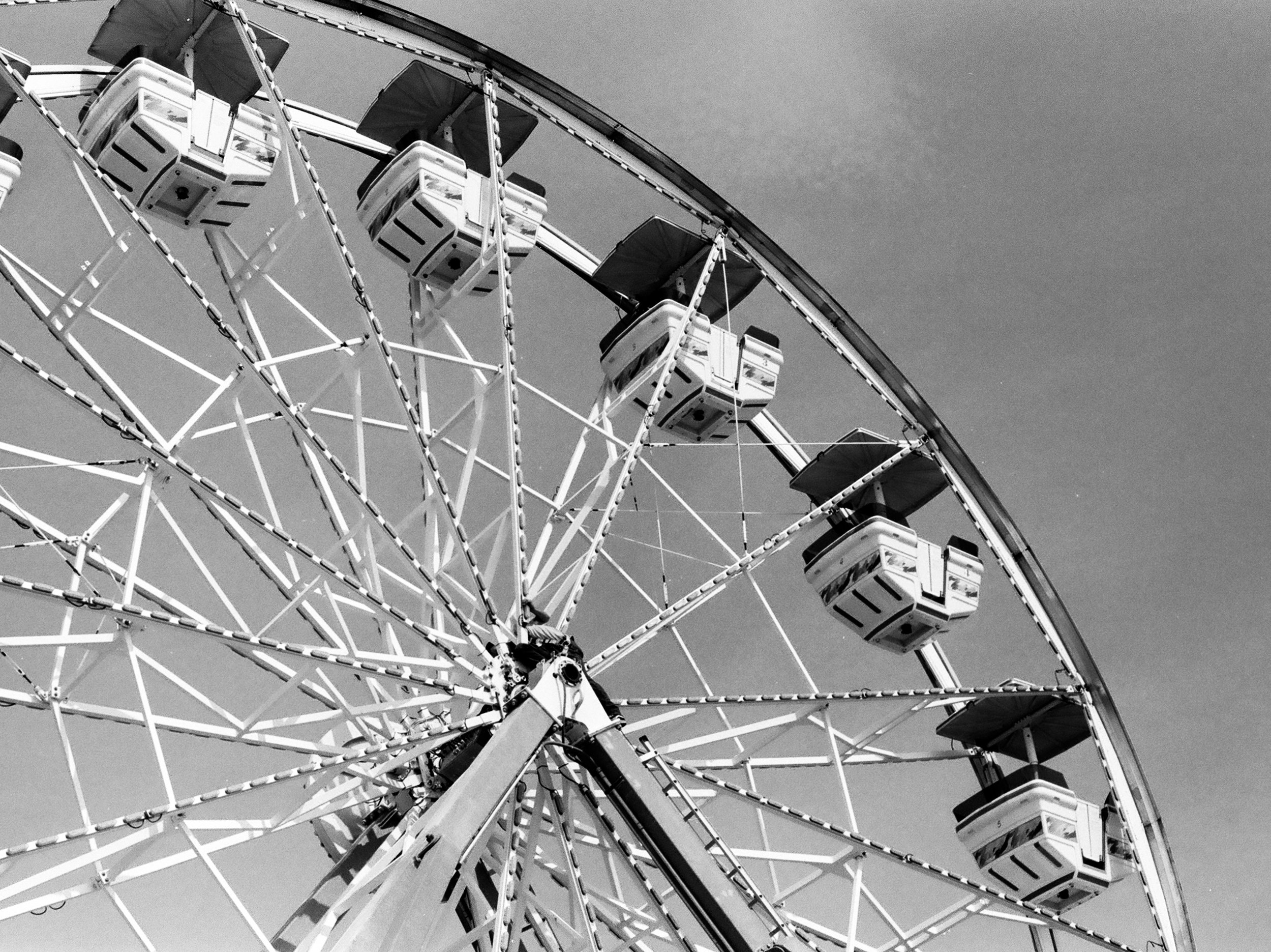 Electra Wheel, Old Orchard Beach, ME, 2018.