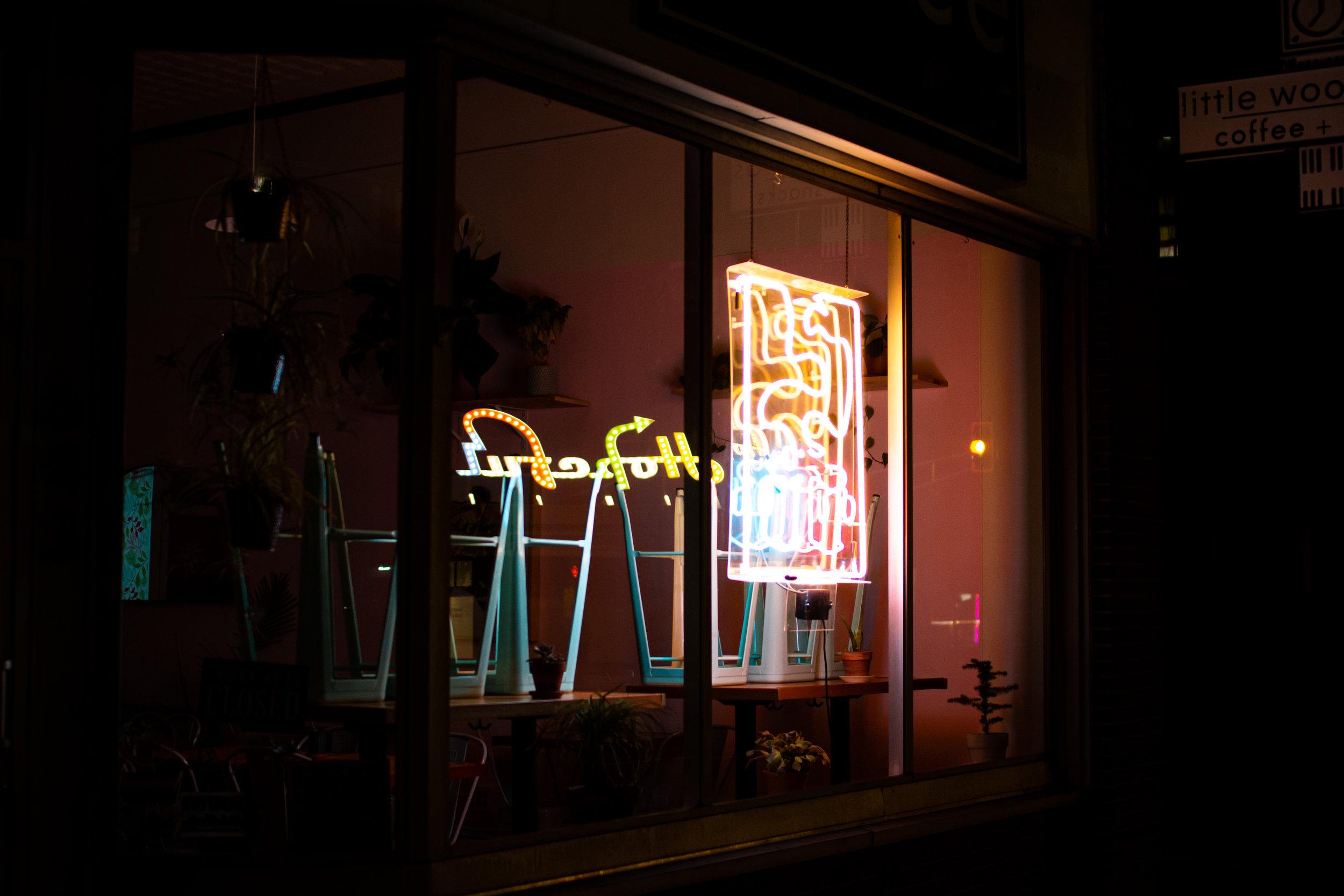 Hopeful Reflection, Portland, ME, 2019.